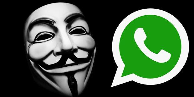 Anonymous warnt vor WhatsApp