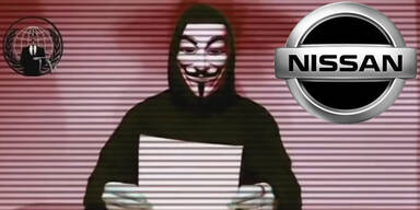 Anonymous: Mega-Attacke gegen Nissan