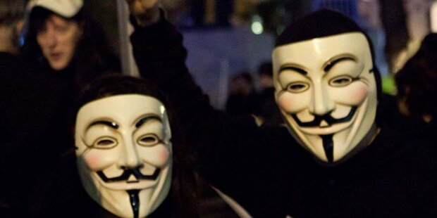 Anonymous: Weitere Proteste in Österreich