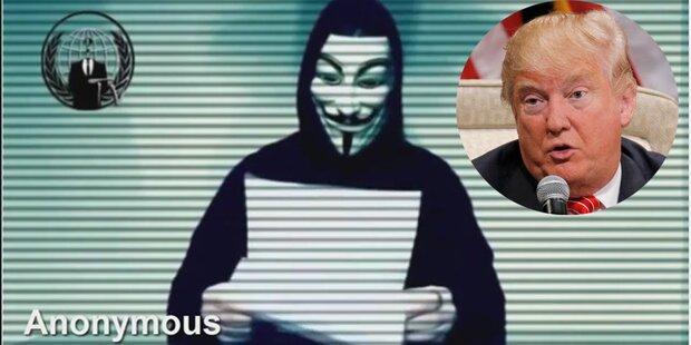 Anonymous erklärt Trump jetzt den Krieg
