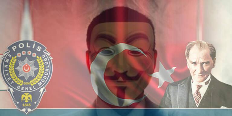 Anonymous stellt türkische Polizei bloß