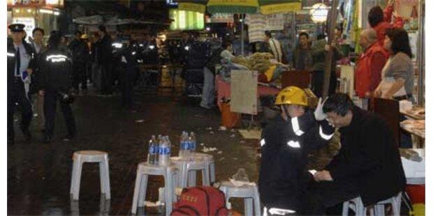Säure-Anschlag auf Touris in Hongkong