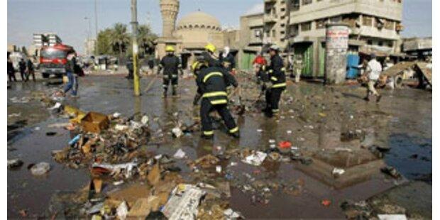 Über 60 Tote nach Anschlägen in Bagdad