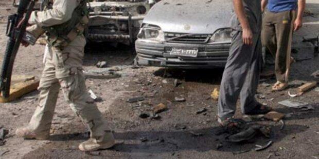 Bagdad von Anschlagsserie erschüttert