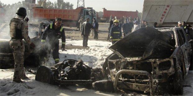 Schwerer Bombenanschlag im Irak