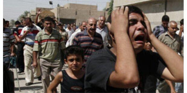 Mindestens 20 Tote bei zwei Anschlägen in Bagdad
