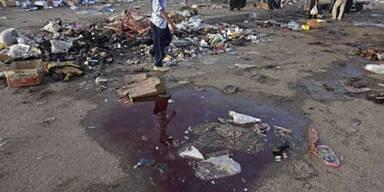 Mehr als 72 Tote bei Bombenanschlag