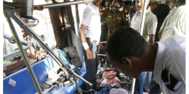 Bombenanschlag auf Zug in Sri Lanka