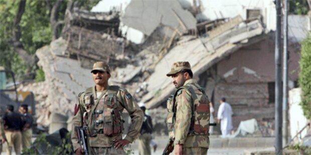 Erneut Taliban-Anschlag in Pakistan