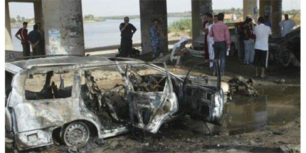 Anschläge im Irak - 21 Tote