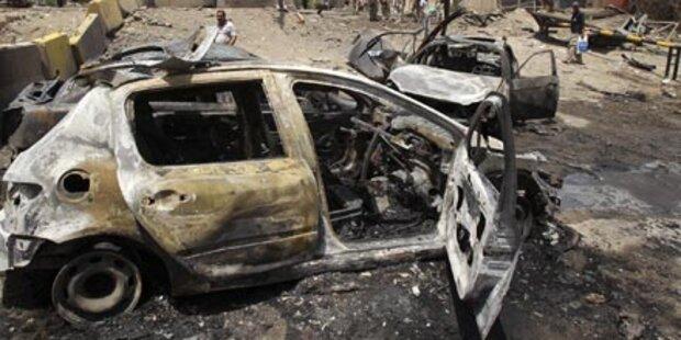 Terrorserie im Irak hält an