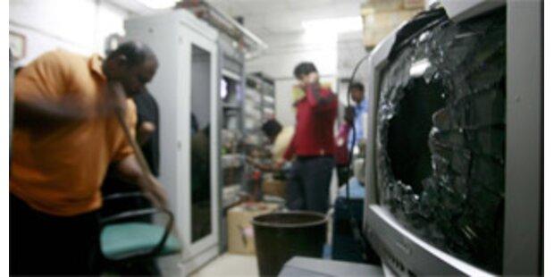 Anschlag auf privaten Fernsehsender in Sri Lanka
