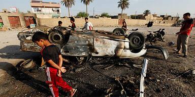 Anschlag im Irak / Autobombe