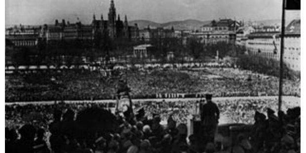 Österreich gedenkt 70 Jahre Anschluss