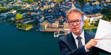 Anschober: 'St. Wolfgang ist besondere Herausforderung'