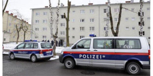 Polizei-Einsatz bei Delogierung von Tschetschenen