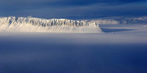 Mysteriöse Form in Antarktis-Eis entdeckt