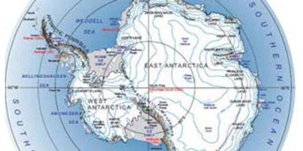 Forscher entdecken Vulkan in der Antarktis