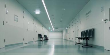 Krankenhaus-Gang