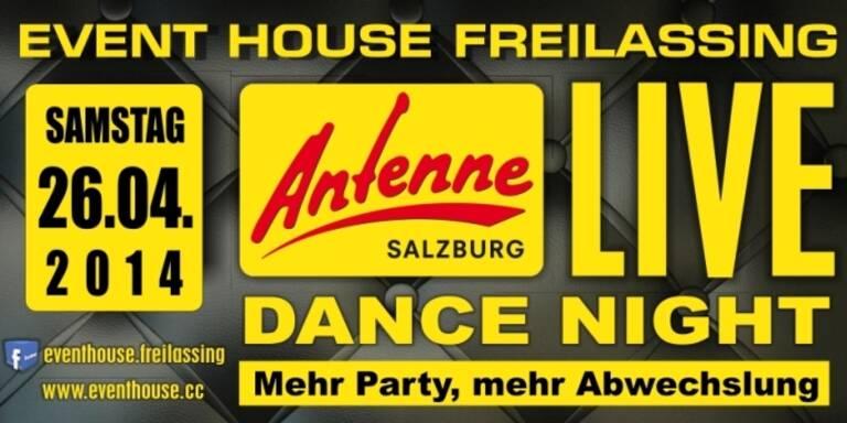 DIE Antenne Salzburg LIVE: DANCE NIGHT - LIVEÜBERTRAGUNG