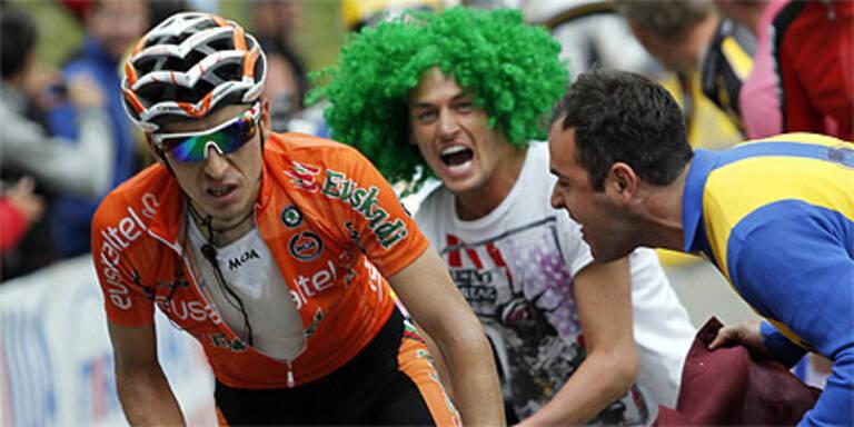 Giro: Igor Anton gewinnt am Monte Zoncolan