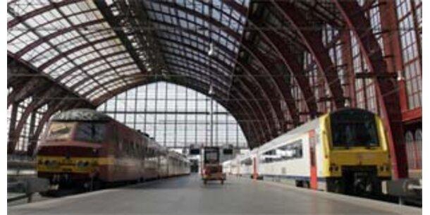 Eisenbahner in Belgien streiken für höhere Löhne