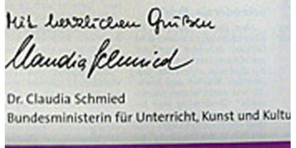 Schmied lobt Lehrer per Zeitungsinserate