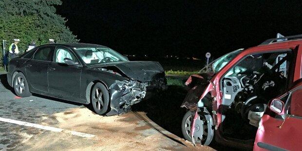 Innenminister Sobotka in schweren Autounfall verwickelt