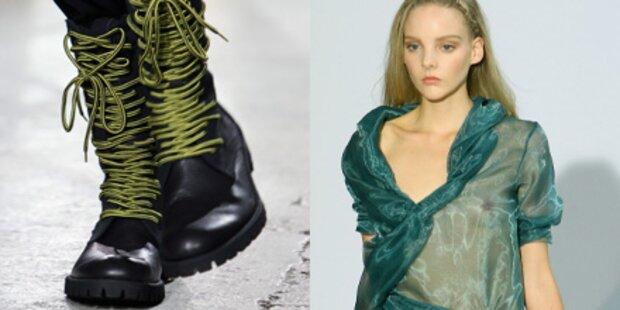 Hart versus zart - Fashion-Gegensätze