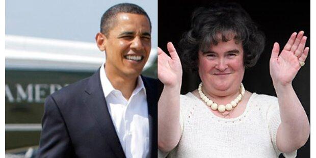 Susan Boyle singt für Barack Obama!