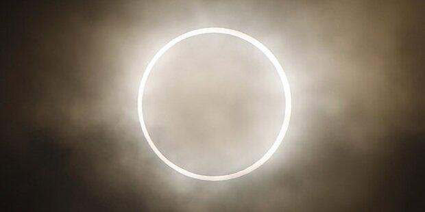 Totale Sonnenfinsternis am 03.11.2013