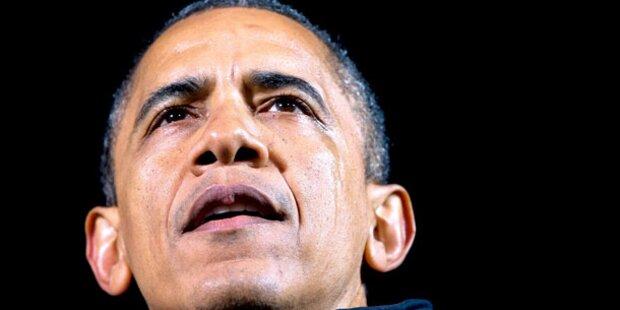 Obama weint nach Wahl-Marathon