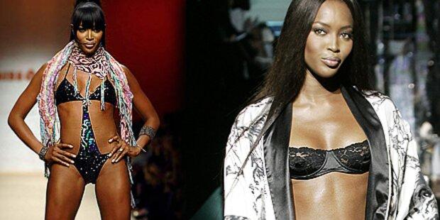 Superstar Naomi Campbell ist heiße 40