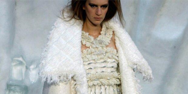 Lagerfeld zaubert Eiszeit für Chanel