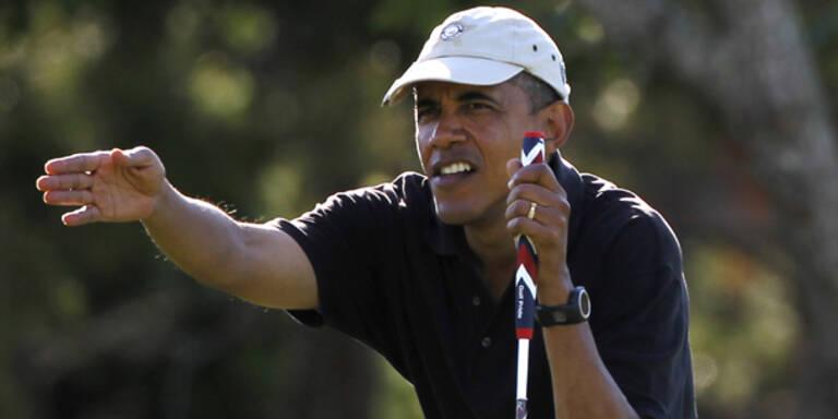 Hurrikan Irene bedroht Obamas Ferien