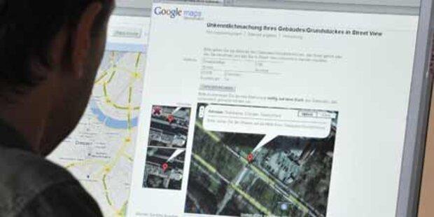 Google weist Street View- Kritik zurück