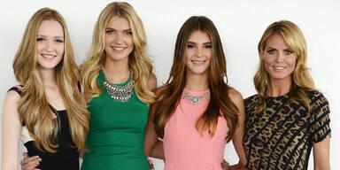 "Drei Beautys im Finale von ""Germany's Next Topmodel"""