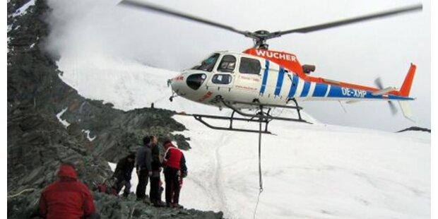 Bergretter hoffen auf Wetterbesserung
