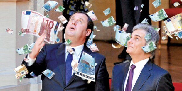 Budget: Weniger Geld für Parteien
