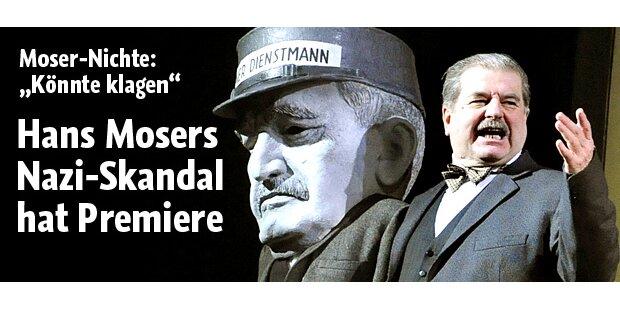 Nazi-Skandal um Hans Moser: Premiere