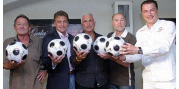 Austropop plus Fußball
