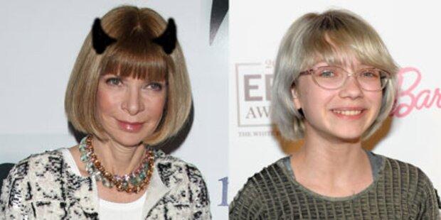 Vogue-Chefin zeigt Bloggern ihre Hörner