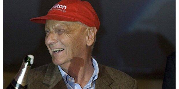 Zwillinge für Niki Lauda!
