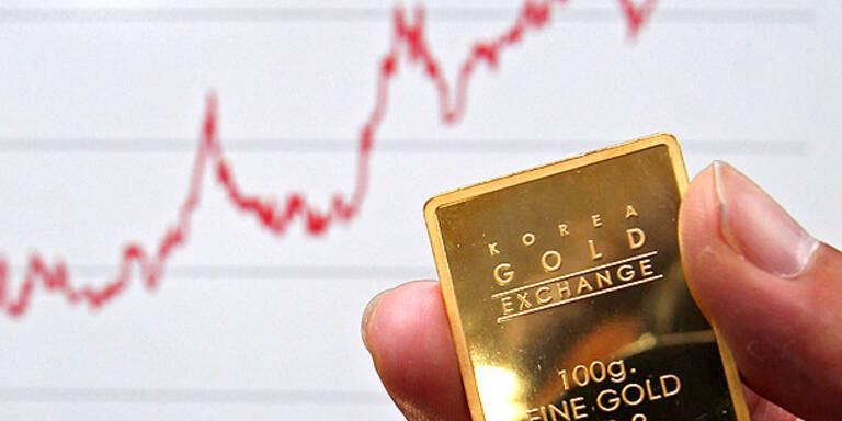 Goldpreis weiter auf Rekordjagd