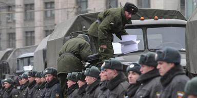 Massenprotest gegen russische Regierung