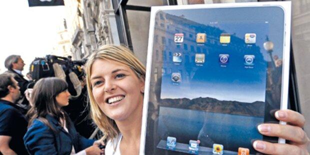 Am Freitag startet iPad in Österreich