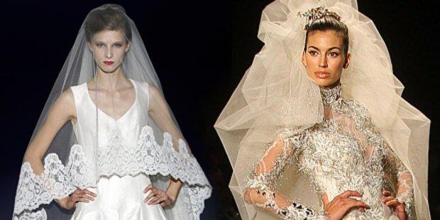 Die schönsten Brautkleider aus Barcelona