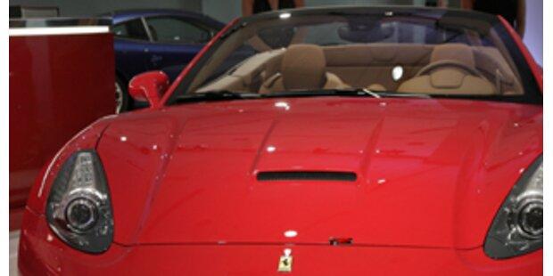 Ein Ferrari auf dem Gabentisch?– kein Problem