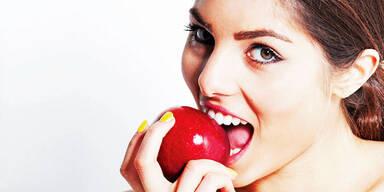 Äpfel machen uns schlank und gesund
