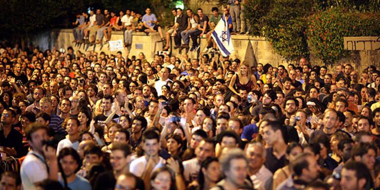 300.000 Israelis bei